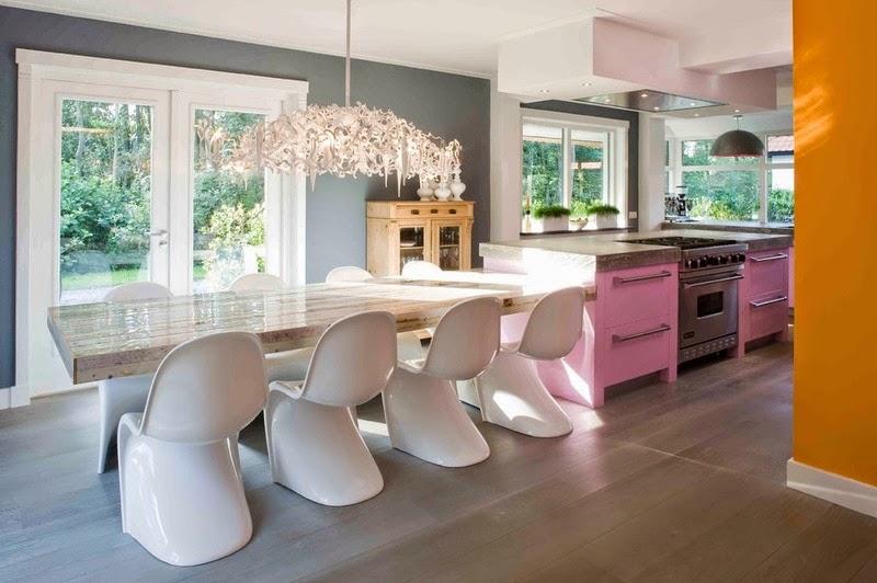 Hogares frescos 12 mostradores de cocinas con estilo que - Disenos de mostradores ...