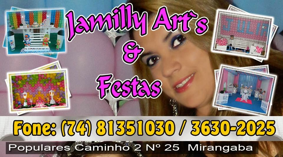 Jamilly Art's e Festas