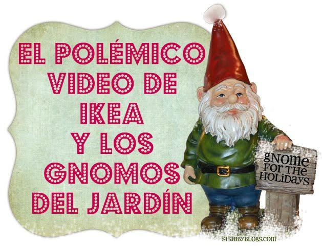El pol mico video de ikea y los gnomos de jard n for Decoracion jardin gnomos