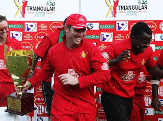Brendan Taylor Won the T20 trophy