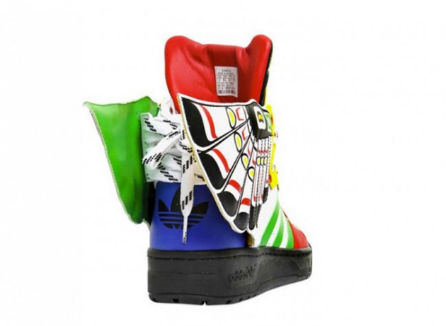 "Adidas Originals by Jeremy Scott ""Totem Sneaker"""