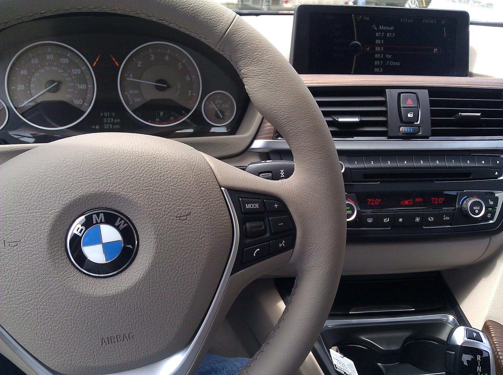 Test Drive Quick Spin BMW I - Bmw 328i interior