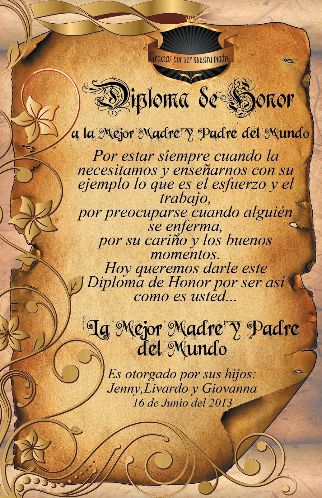 Diplomas De Pergaminos