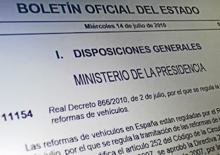 manual reformas Normativa de reformas de vehículos