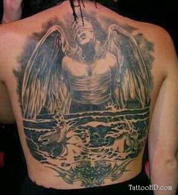 The best back tattoo how to making tattoos for Best back tattoos
