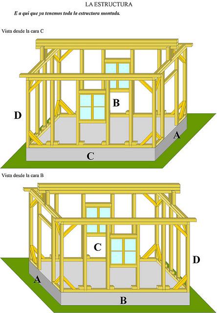 Como hacer una casa de madera como se hace aprende de todo - Como se hace una casa de madera ...