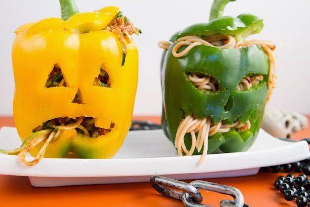 декорация на храна хелоуин