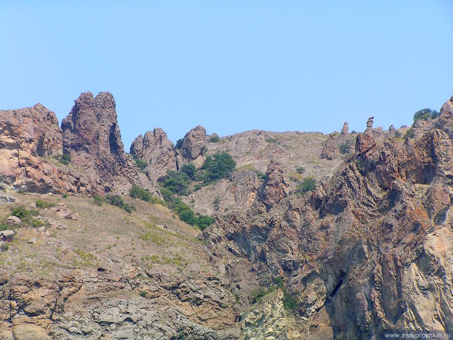 Кара-Даг. Хребет Карагач (каменный лес) | Kara-Dag. Karagach (Stone Forest) ridge