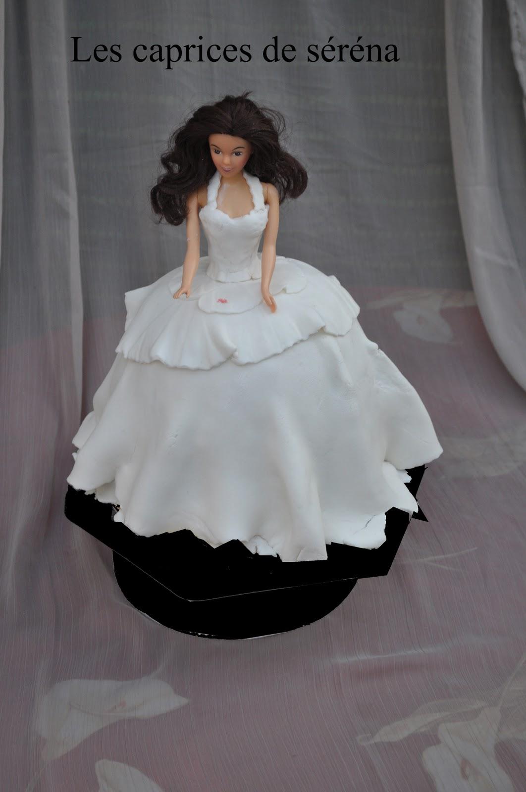 Les caprices de serena g teau barbie mari e - Barbie mariee ...