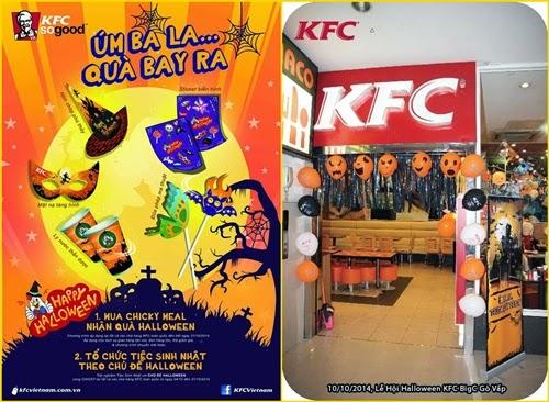 Tặng quà Halloween khi mua phần ăn Chicky Meal tại KFC - 1