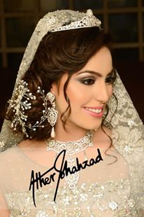 Amazing Bridal Makeup 2015 by Ather Shahzad ~ Just Bridal