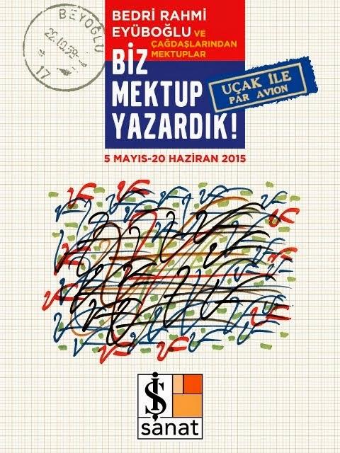 """Bedri Rahmi Eyüboğlu ve Çağdaşlarından Mektuplar """"Biz Mektup Yazardık"""" Sergisi'nde!  Read more: htt"""