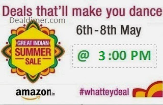 Amazon WhatTeyDeal Great Indian Summer Sale - 8th May, 3PM