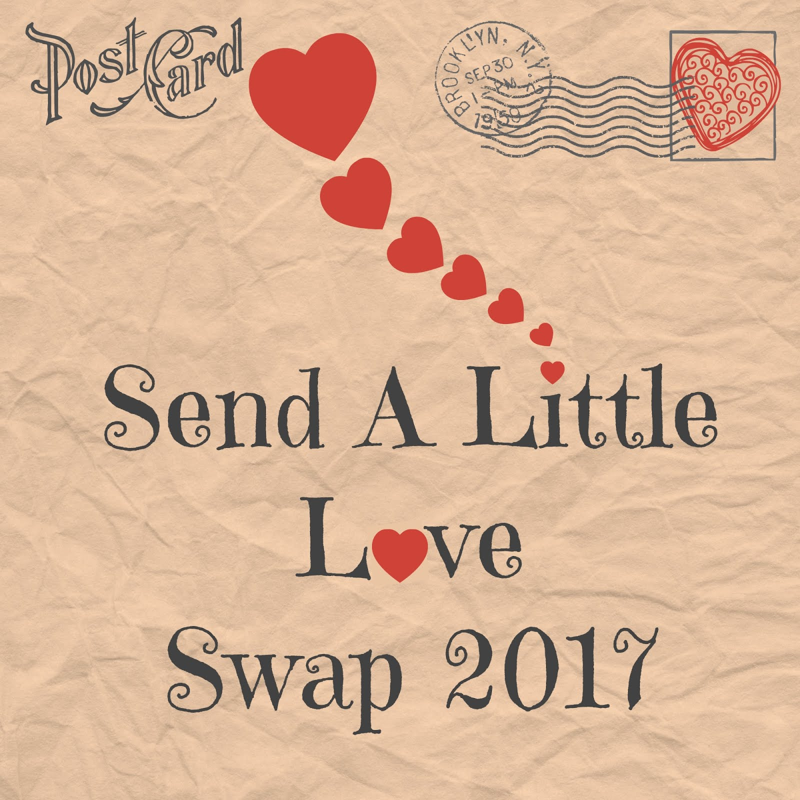 Send a Little Love Swap 2017