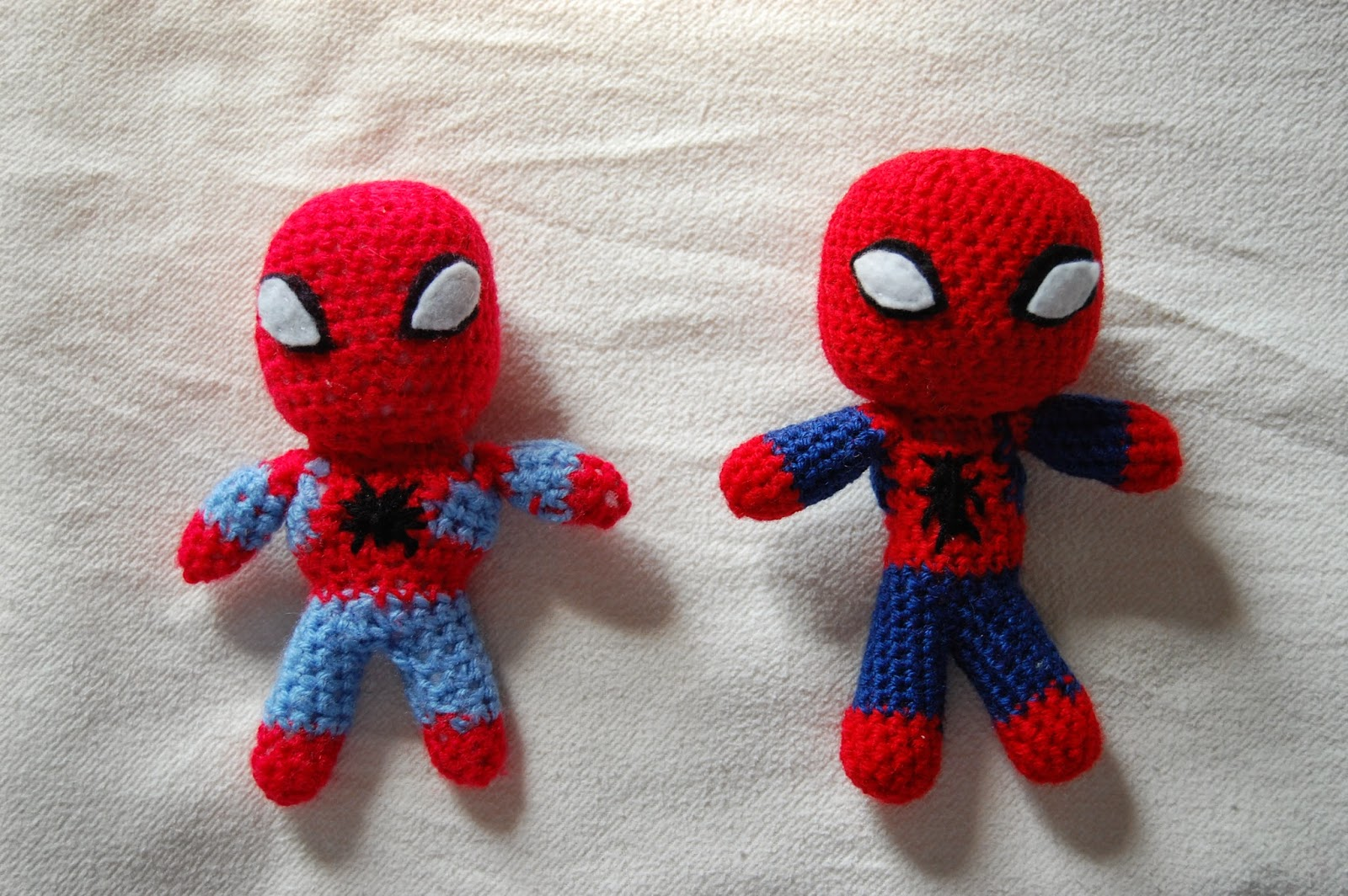 the geeky knitter: ongoing projects 4; spiderman crochet pattern