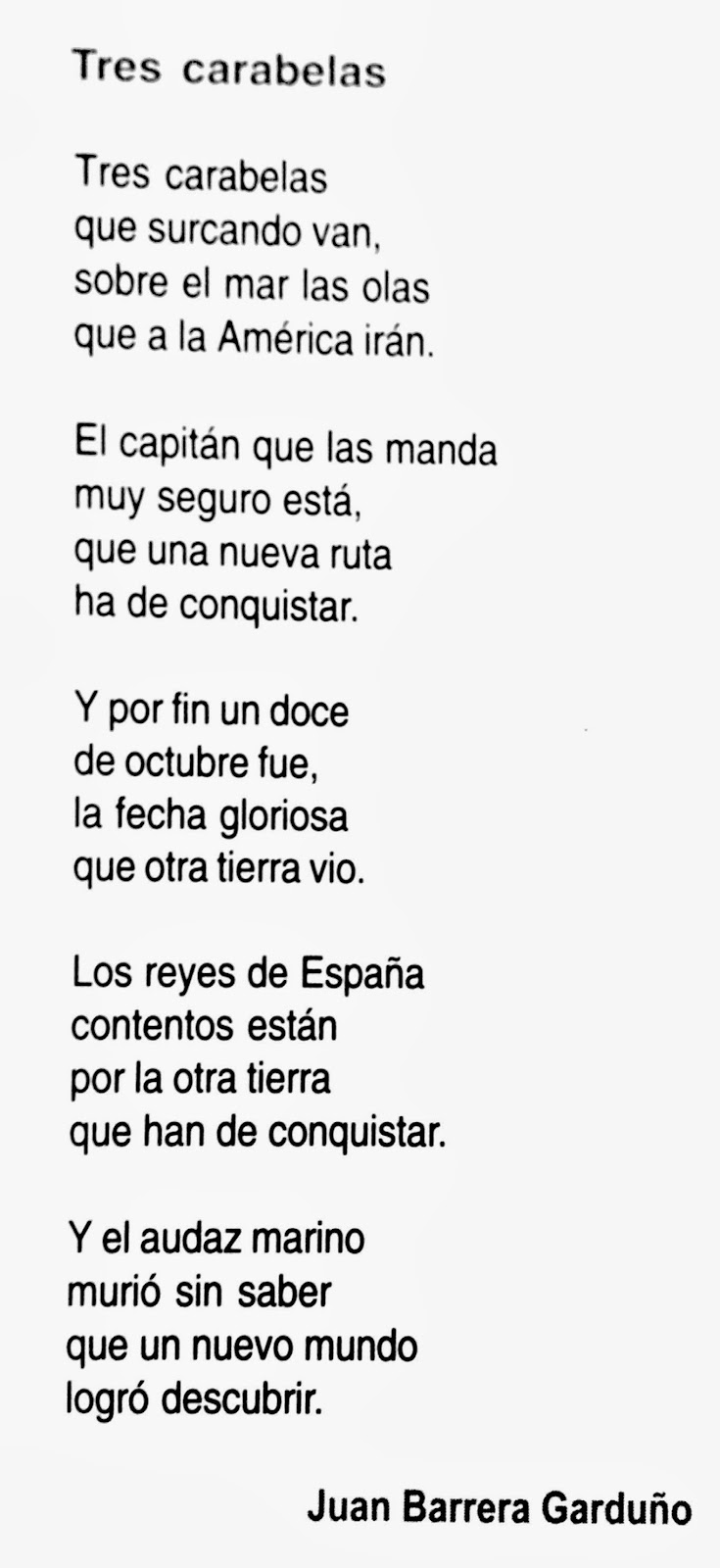 Poema De Cristobal Colon