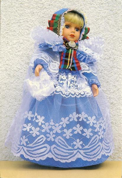 doll dressed in traditional clothes