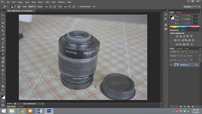 Tutorial Iris Blur Effect Photoshop CS6