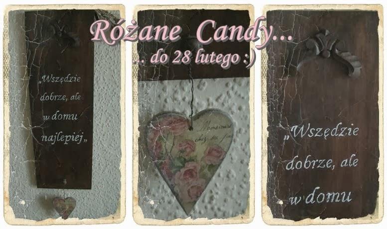 Różane Candy