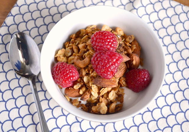 healthy skinny peanut butter granola recipe