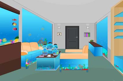 Fish Tank Room Escape