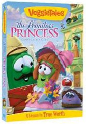 The Penniless Princess Veggie Tales Cover