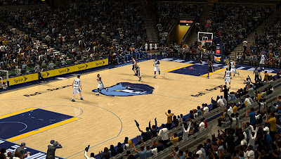 NBA 2K13 FedExForum Court Patch