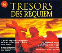Tresors des Requiem - 5 grandes réquiens - Mozart, Brahms, Fauré, Verdi, Duruflê, Lotti, Cherubini, Berlioz, etc