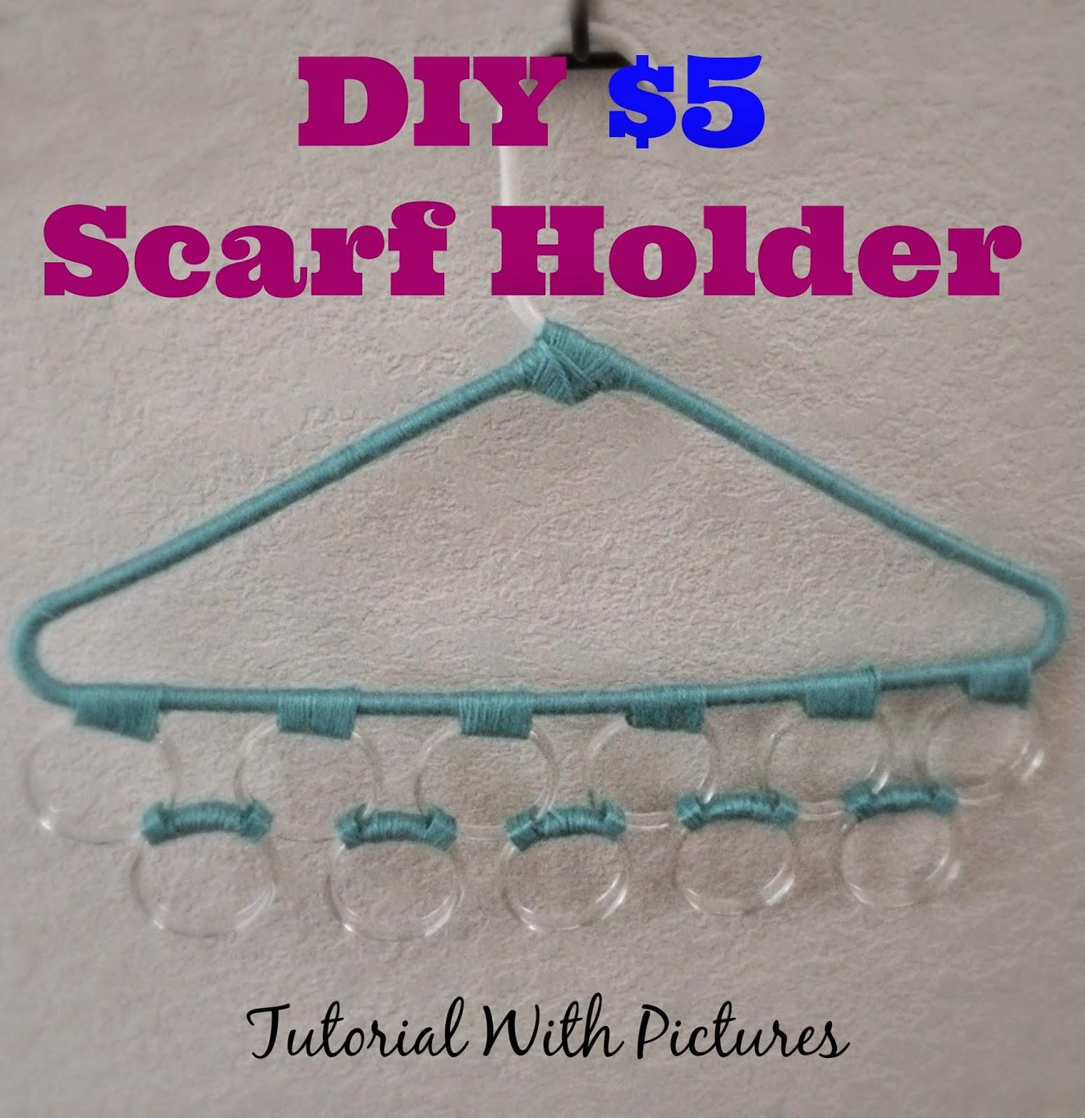 DIY $5.00 Scarf Holder |We Got the FUNK