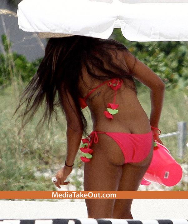 Angela simmons bikini ass