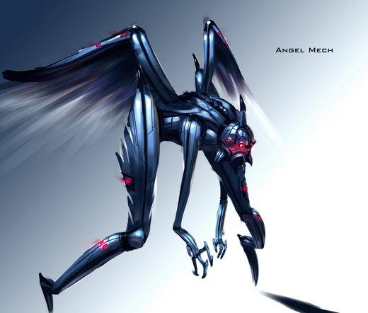 Angel Mech por xavor85