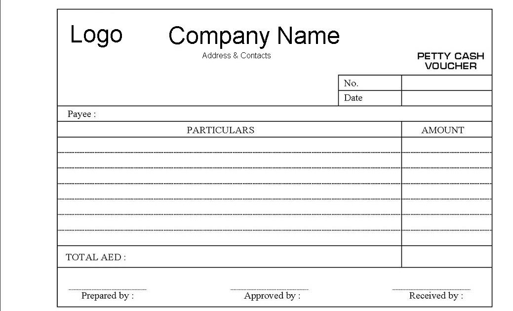 Petty Cash Request Form Petty Cash Voucher Adsco Companies All