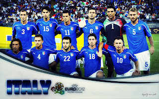 italy team in euro 2012 wallpaper