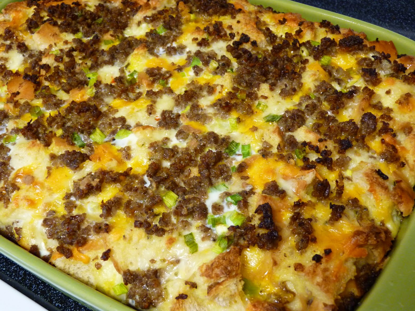 Fantastic Family Favorites: Spicy Sausage Breakfast Casserole