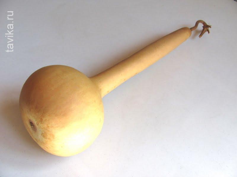 Поделка из тыквы лагенарии