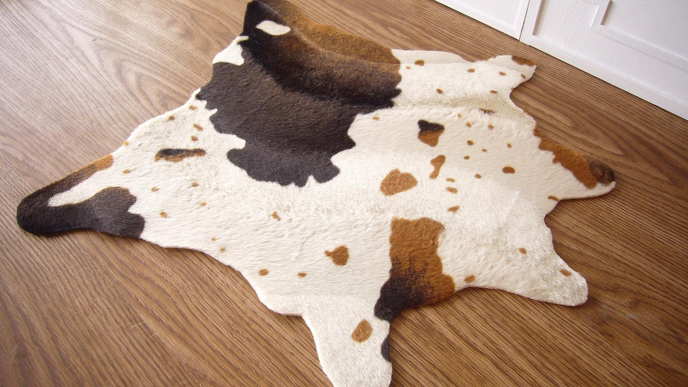 cow skin rug style in scale cow hide rugs 16 scale