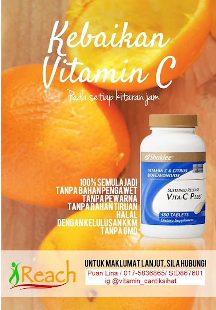 kesan pengambilan vitamin c shaklee