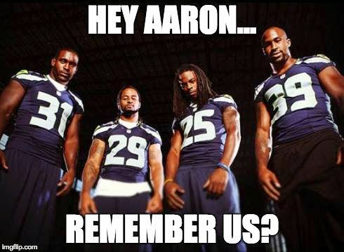 Hey aaron... remember us?