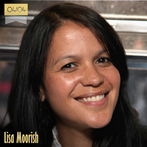 4 de abril | Lisa Moorish - @LisaMoorish | Info + vídeos