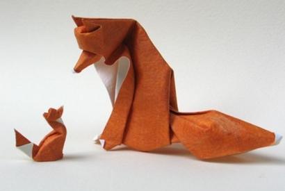 Vientos de guerra - Página 2 Origami+fox+designed+giang+dinh