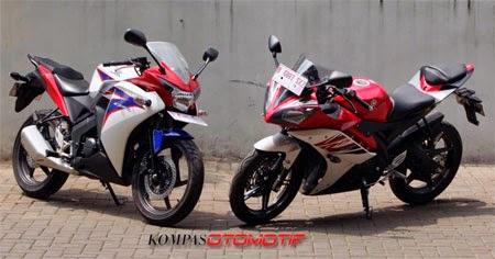Sudut Ergonomi Honda CBR 150 vs Yamaha R15