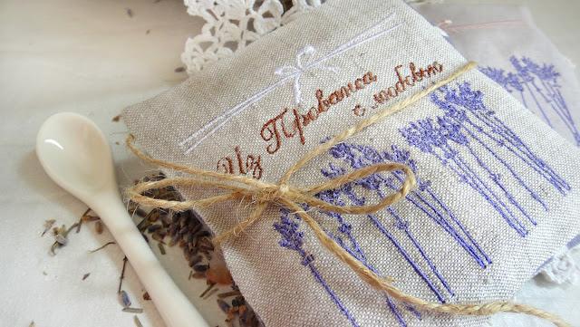 Мешочки с травами - украшения для интерьера в экостиле, в стиле прованс