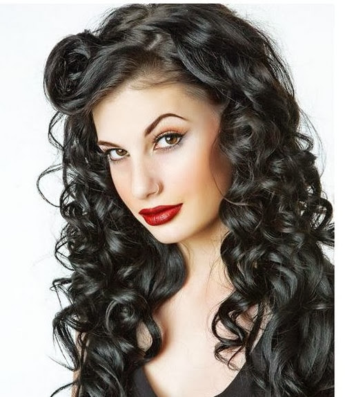 hair styles for natural curly hair