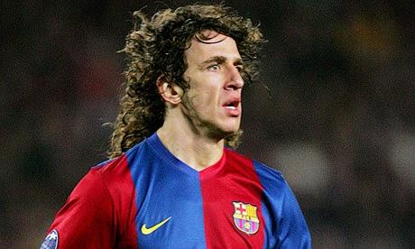 Carles Puyol o 2° melhor zagueiro do Pro Evolution Soccer 2013.