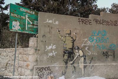 Graffiti - Banksy - Belen - Palestina