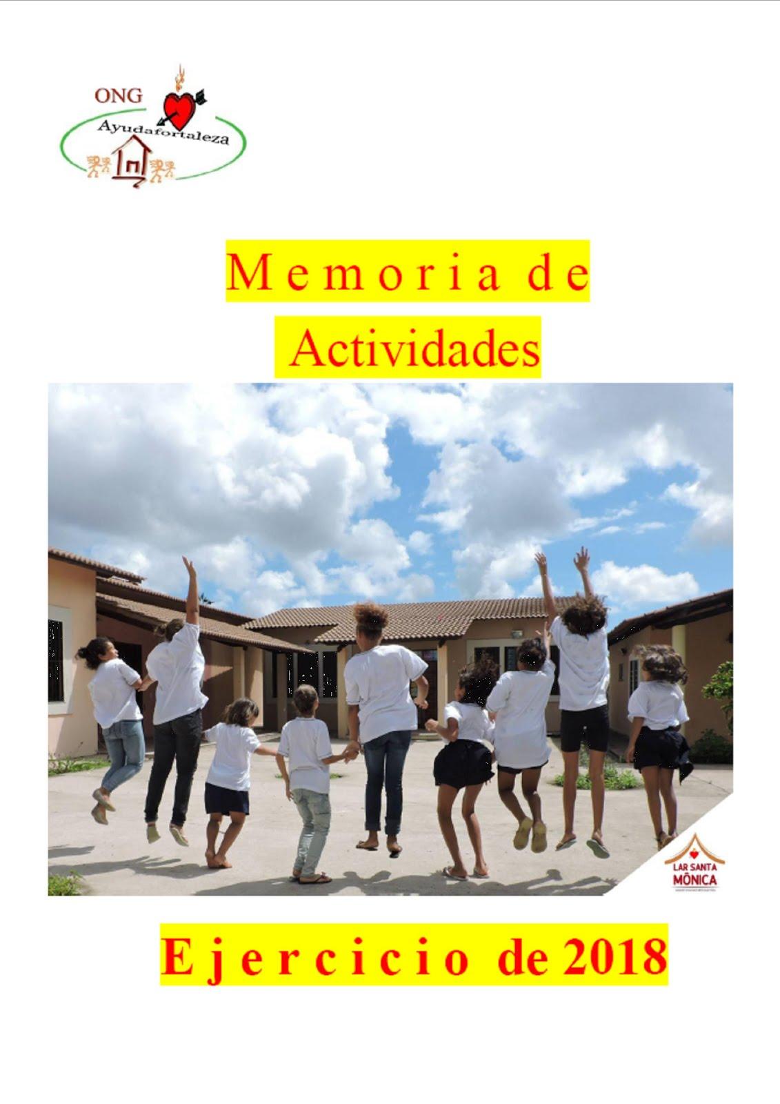 AYUDAFORTALEZA - MEMORIA 2018