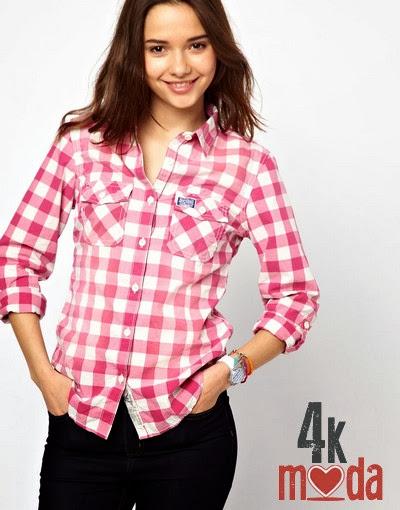 Yeni Moda Bayan Gömlek Modeli