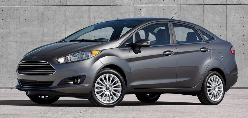 2014 Ford Fiesta sedan grey & Top 20 Best-Selling Cars In Canada - August 2013 - markmcfarlin.com