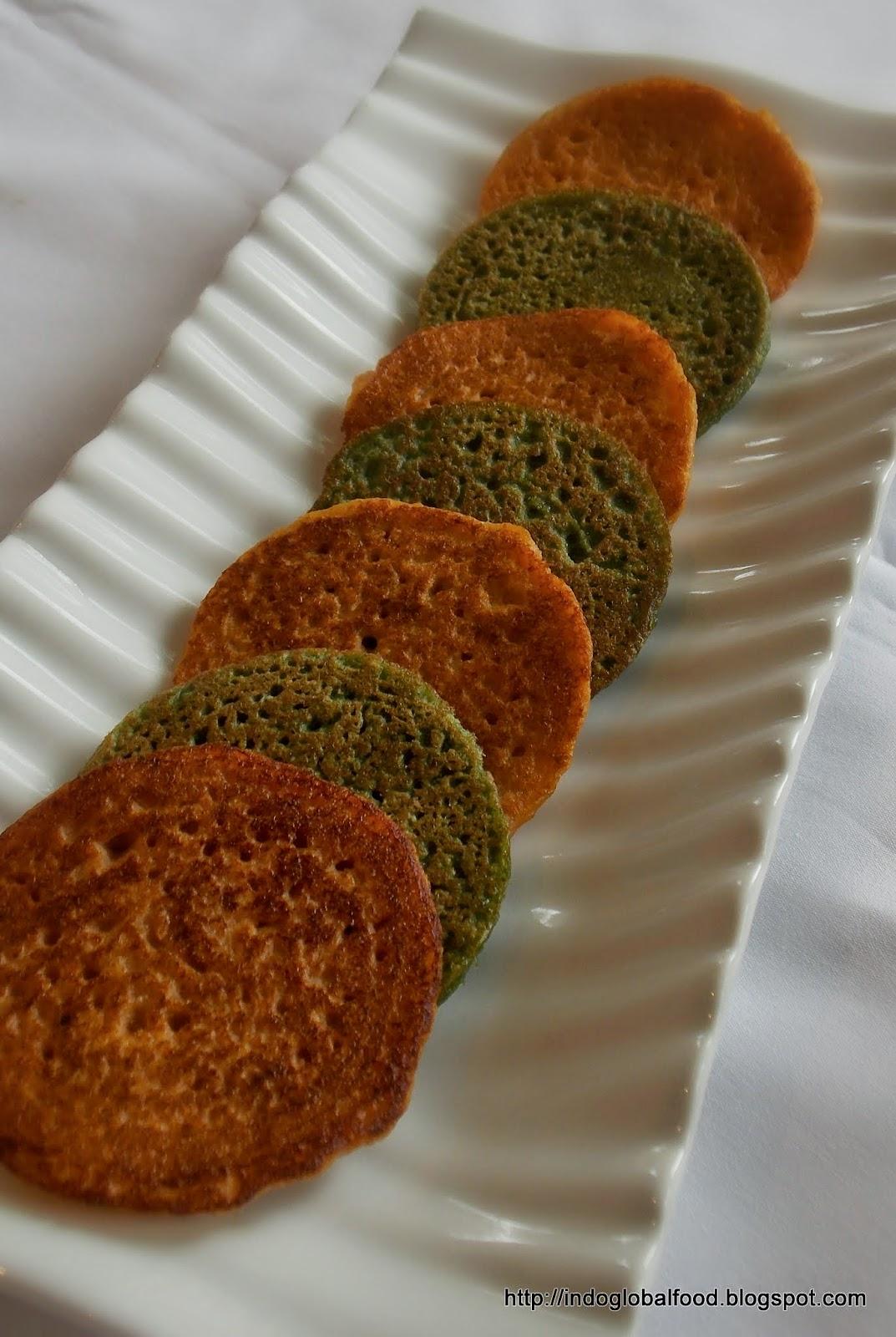 Savory Pancake | www.indoglobalfood.com