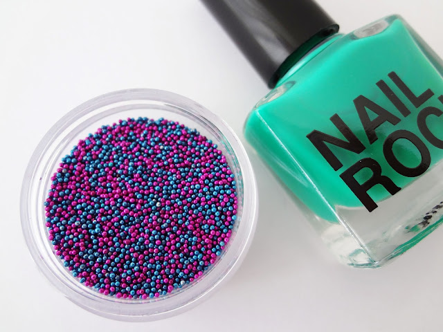 Nail Rock nail caviar manicures neptune.